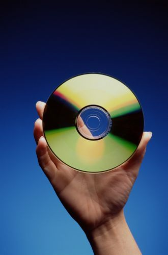 Лазерный диск - носитель информационных продуктов