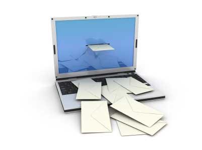 О чём писать в интернет рассылке - компьютер и письма