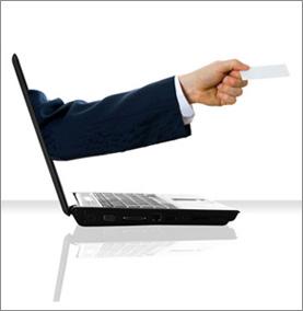 Рука из ноутбука - доставка интернет рассылки прямо клиенту на дом