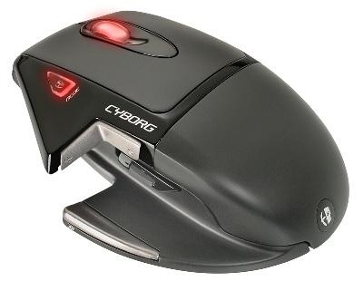 Компьютерная мышь Cyborg с футуристическим дизайном