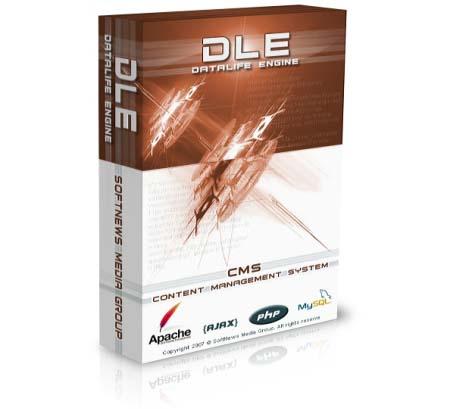 DataLifeEngine (DLE) - пожалуй самый распространённая CMS для новостей и информации