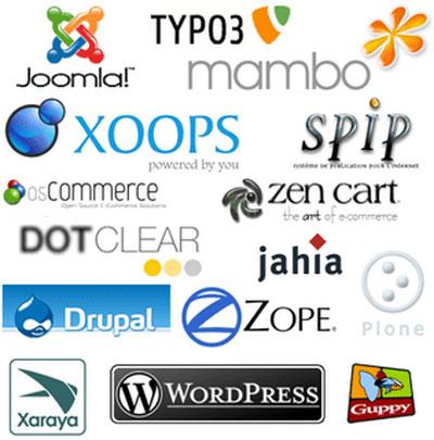 Различные CMS на основе которых вы сможете создать себе сайт или блог