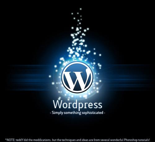 Логотип WordPress сегодня известен многим вебмастерам